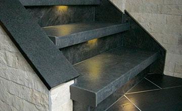Treppenrenovierung LED