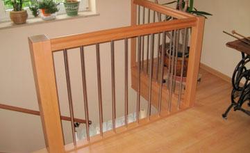Treppenrenovierung Geländer