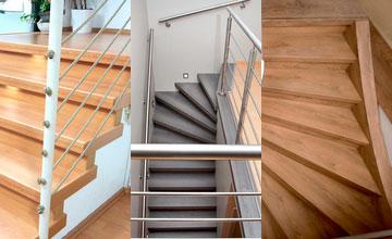 Treppenrenovierung Varianten